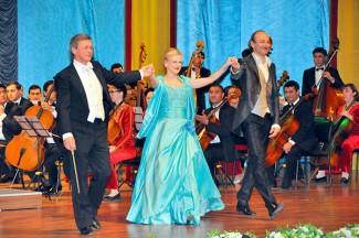 В Ашхабаде прошел туркменско-австрийский концерт