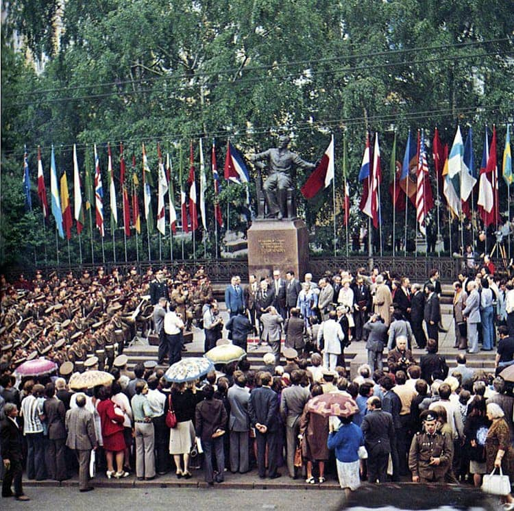 Московская консерватория, 1983 год. Фото - pastvu.com