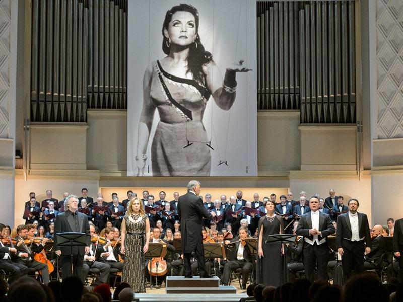 В Концертном зале имени Чайковского прозвучала «Аида» Джузеппе Верди. Фото: Александр Куров