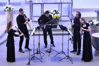 Nexus Reed Quintet. Фото - Peter Fischli / Swiss Chamber Music Circle
