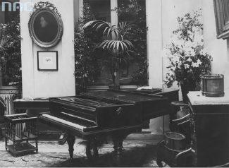 Фортепиано Шопена, 1932 год. Фото - Ilustrowany Kurier Codzienny / Национальный цифровой архив / audiovis.nac.gov.pl