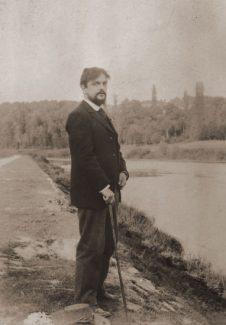 Клод Дебюсси на прогулке, 1890 год