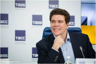 Денис Мацуев на пресс-конференции Grand piano competition