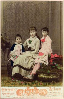 Владимир, Софья и Людмила фон Мекк, 1881 год