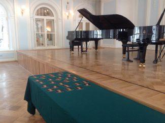 Жеребьевка на Grand piano competition