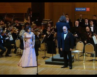 Сергей Лейферкус отметил юбилей большим концертом в Московском Доме музыки