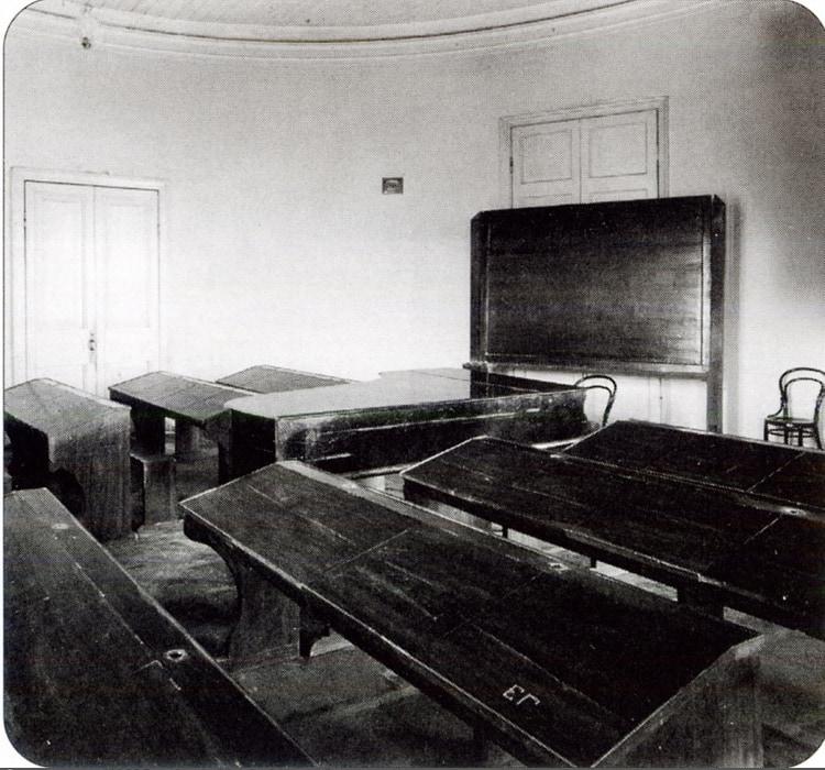 Историко-теоретический класс, 1890-е гг. Фото - pastvu.com