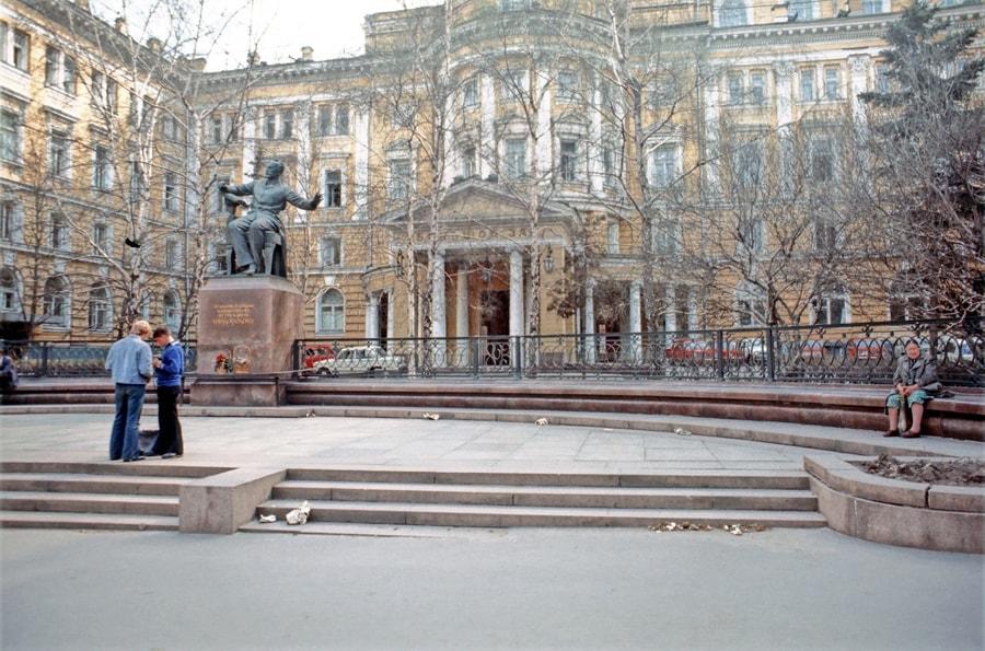 Консерватория в 1976 году. Фото - pastvu.com