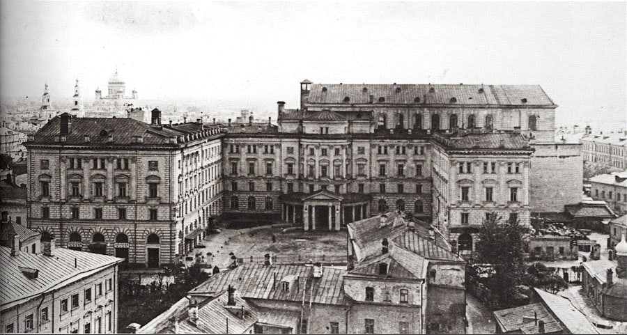 Вид на консерваторию в 1920-е годы. Фото - pastvu.com