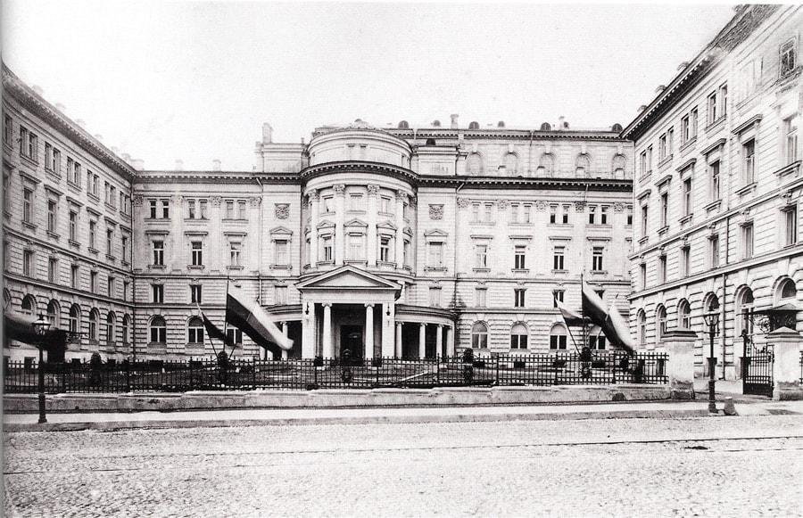 Новое здание консерватории, 1901 год. Фото - pastvu.com