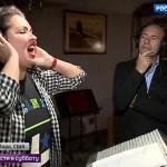 Анна Нетребко записывает песни для нового альбома Игоря Крутого
