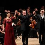 Солисты Большого театра Венера Гимадиева и Андрей Жилиховский спели для рязанцев