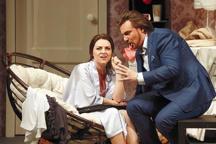 Премьера оперы Доницетти «Дон Паскуале» прошла на Новой сцене Большого театра. Фото - Дамир Юсупов