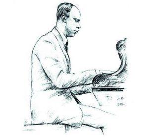 Таким Прокофьева увидел знаменитый график-«мирискусник» Георгий Верейский, 1927 год