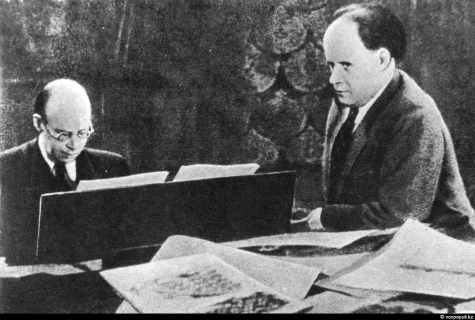 Сергей Прокофьев и Сергей Эйзенштейн