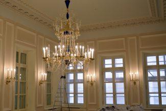 Завершена реконструкция Рахманиновского зала Московской государственной консерватории