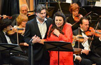 Мария Гулегина и Илья Говзич. Фото - Роман Нагин