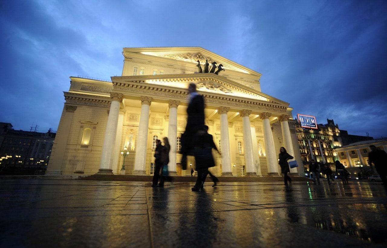 Большой театр. Фото - Владимир Астапкович