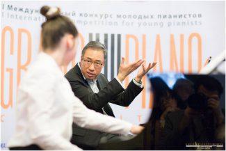 Хёнджун Чан на мастер-классе. Фото - Евгений Евтюхов