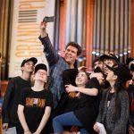 Денис Мацуев и лауреаты Grand piano competition на сцене БЗК. Фото - Евгений Евтюхов