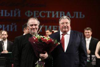 Владимир Волков присвоил Валерию Гергиеву звание Народного артиста Республики Мордовия