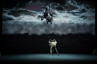 Михайловский театр представил премьеру балета «Люблю тебя, Петра творенье». Фото: Николай Круссер