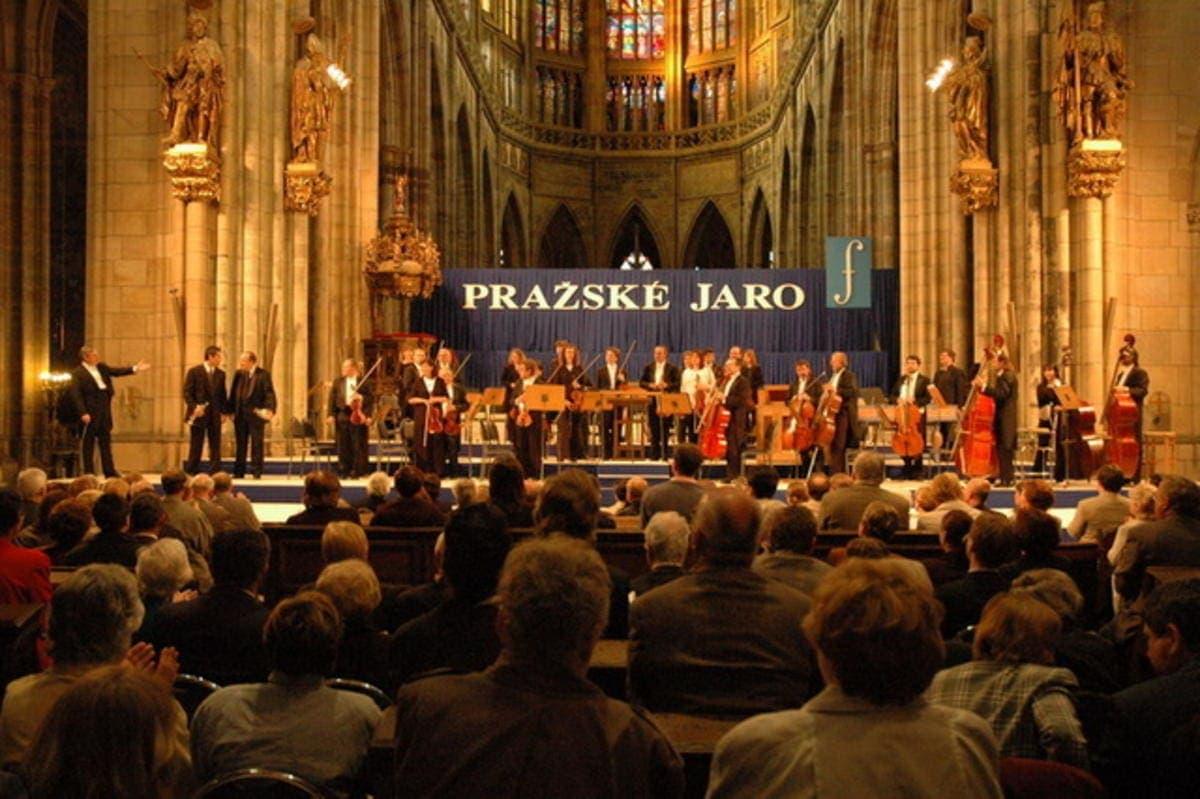 Открытие 71-го музыкального фестиваля «Пражская весна»