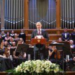 Президент Путин посетил концерт оркестра Мариинки под руководством Валерия Гергиева