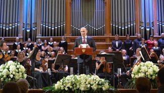 Президент Путин отметил, что Пасхальный естиваль является крупнейшим музыкальным форумом