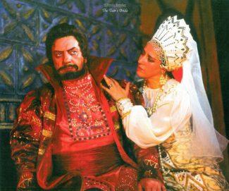«Царская невеста» Римского-Корсакова: Григорий Грязной – А. Савченко, Любаша – Н. Галеева