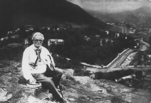 Петр Соломонович Столярский на отдыхе