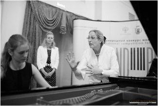 Ванесса Латарш на мастер-классе. Фото -Евгений Евтюхов