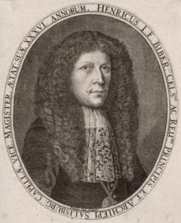 Генрих Игнац Бибер. Гравюра 1681 года. Фото - Wikimedia Commons