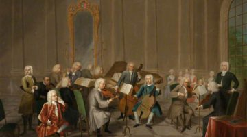 "Джон Теодор Хейнц-старший ""A Music Party at Melton Constable"", 1734 год"