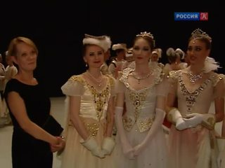 Выпускники вагановки показали в Москве спектакль