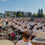 Новосибирский АСО представил программу на Центральной площади Новоалтайска. Фото - Виктор Дмитриев