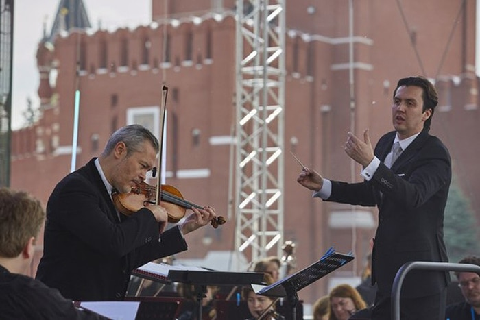 Сергей Тарасов и Владимир Репин. Фото - Александр Иванов
