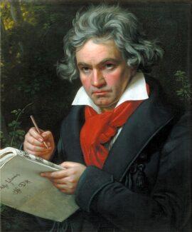 Йозеф Карл Штилер. Портрет Людвига ван Бетховена, 1820 год. Фото - Wikimedia Commons