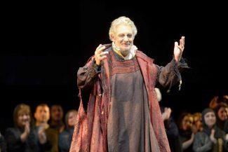 Пласидо Доминго в опере «Симон Бокканегра». Фото - Валентин Барановский / Мариинский театр