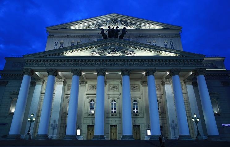 Большой театр. Фото - Сергей Фадеичев
