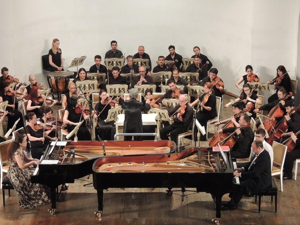 Александр Гиндин и Саида Тагизаде выступили в Баку