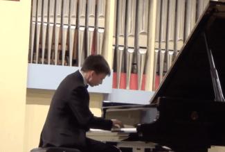Александр Ключко на VI Международном конкурсе пианистов памяти Веры Лотар – Шевченко