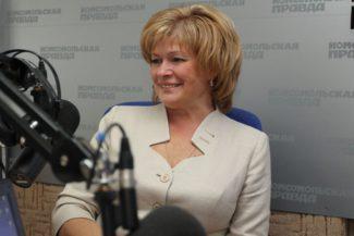 Светлана Краснощекова, министр культуры Саратовской области
