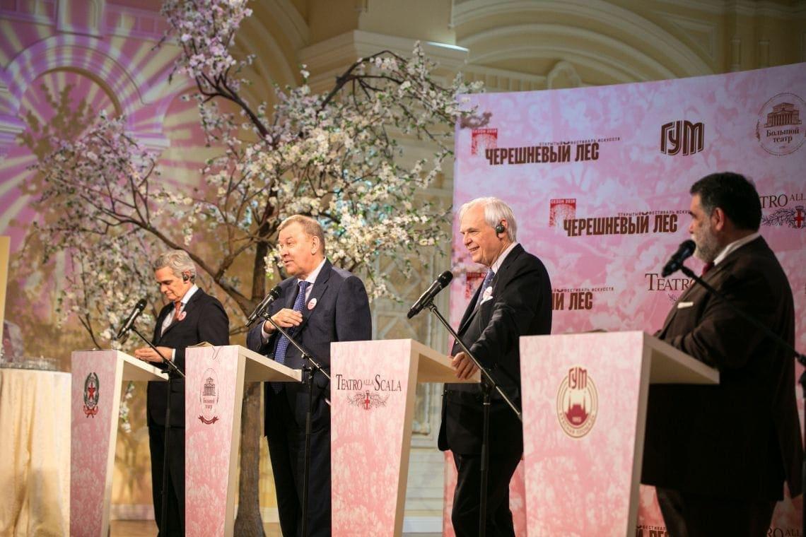 Владимир Урин: «Многолетние дружеские отношения связывают Большой театр и Театр Ла Скала»