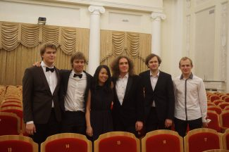 Лауреаты VI Международного конкурса пианистов памяти Веры Лотар-Шевченко. Фото - Анна Ефанова