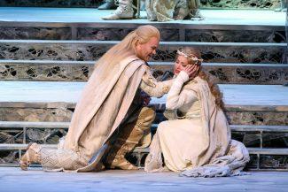Опера «Лоэнгрин» на Новой сцене Мариинского театра. Фото - Н. Разина