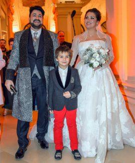 Юсиф Эйвазов, Анна Нетребко и Тьяго. Фото - www.globallookpress.com