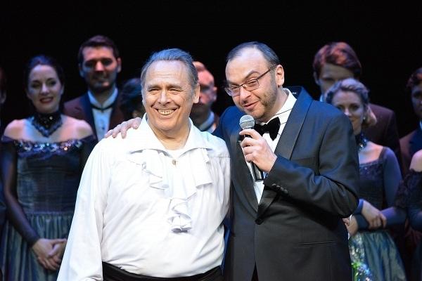 Владислав Пьявко и Дмитрий Бертман. Фото - Антон Дубровский