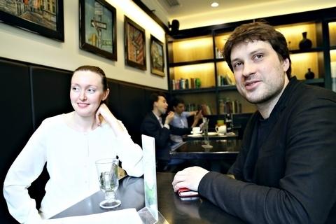 Дарья Филиппенко и Григорий Кротенко. Фото - Ирина Шымчак