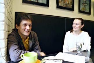 Сергей Полтавский и Дарья Филиппенко. Фото - Ирина Шымчак